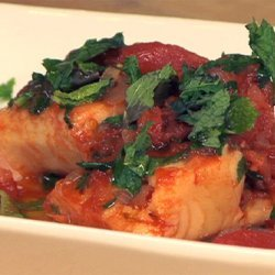 Salt Cod with Tomatoes and Capers (Baccalà alla Vesuviana) recipe