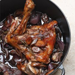 Slow-Cooked Lamb with Sage and Pearl Barley