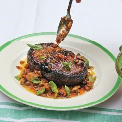 Clinched Double-Wide Loin Lamb Chops recipe