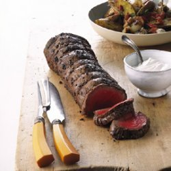 Grilled Beef Tenderloin with Potato Hobo Packs