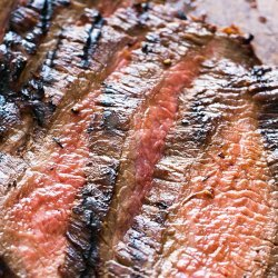Grilled Marinated Flank Steaks