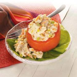 Chicken-Stuffed Tomatoes