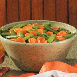 Glazed Carrot and Peas