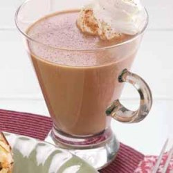 Warm Chocolate Eggnog