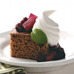 Gingerbread with Compote