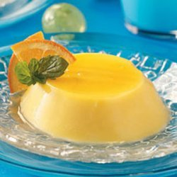 Creamy Orange Flans