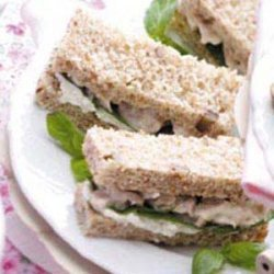 Nutty Chicken Sandwiches