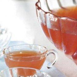 Rosy Rhubarb Punch