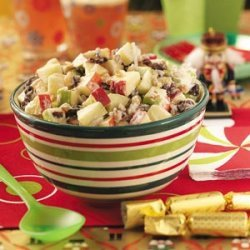 Toy Soldier Apple Salad