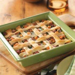 Ham & Spinach Casserole