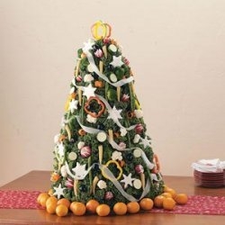 Vegetable Christmas Tree recipe