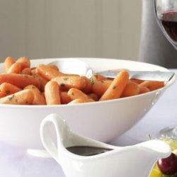 Brandy-Glazed Carrots
