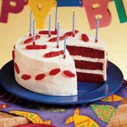 Fishy  Red Velvet Cake recipe
