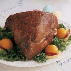 Plum-Glazed Lamb