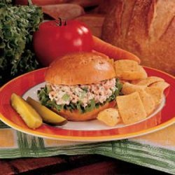 Salmon Salad Sandwiches