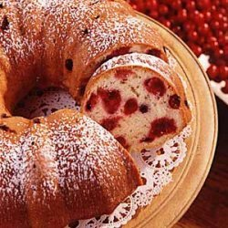 Rich Cranberry Coffee Cake