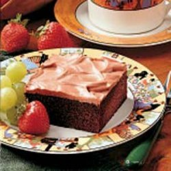 Devil's Food Sheet Cake