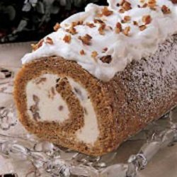 Pumpkin Ice Cream Roll