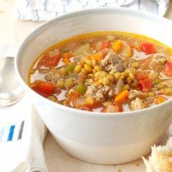 Grandma's Pea Soup recipe