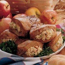 Apple-Stuffed Pork Chops