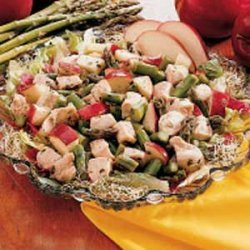 Asparagus, Apple and Chicken Salad