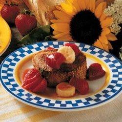 Strawberry-Banana French Toast