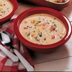 Nacho Potato Soup