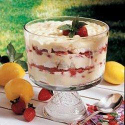 Strawberry Lemon Trifle