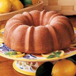 Glazed Lemon Bundt Cake