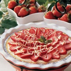 White Chocolate Berry Pie