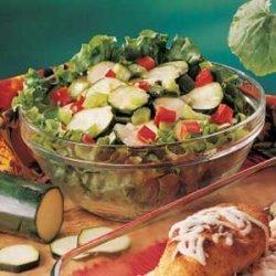 Sweet-Sour Zucchini Salad