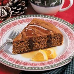 Gingerbread with Brown Sugar Sauce
