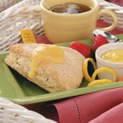 Poppy Seed Lemon Scones