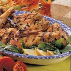 Herbed Chicken Quarters