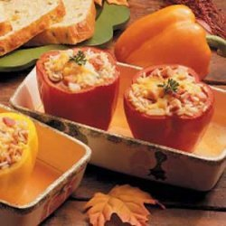 Kentucky Stuffed Peppers