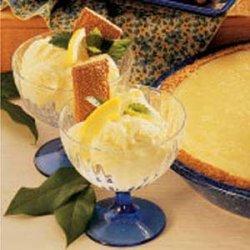 Lemon Ice Cream