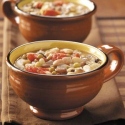 Sixteen-Bean Soup