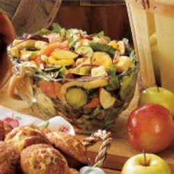 Citrus-Apple Tossed Salad