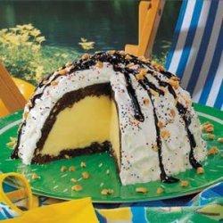 Ice Cream Brownie Mountain recipe