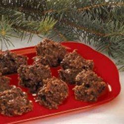 No-Bake Fudgy Oat Cookies