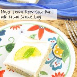 Lemon-Poppy Seed Bars