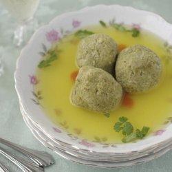 Tomato Matzo Balls