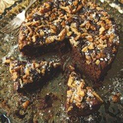Chocolate, Walnut and Prune Fudge Torte