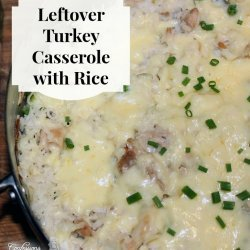 Casserole of Turkey with Rice