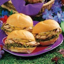 Luau Chicken Sandwiches