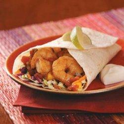 Spicy Shrimp Wraps