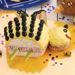 Honeybee Ham Salad Sandwich