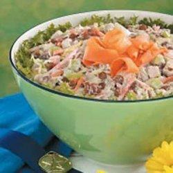 Lentil Chicken Salad