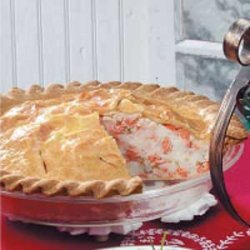 New England Salmon Pie