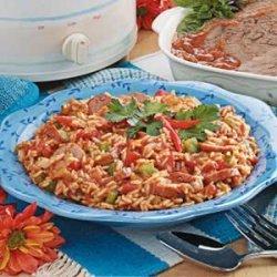 Sausage Spanish Rice
